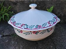 ANCIENNE SOUPIERE  SARREGUEMINES SERVICE BELFORT VEGETABLE COVERED TUREEN