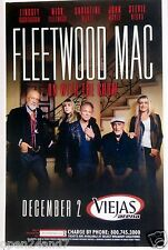"""FLEETWOOD MAC 2014 """"ON WITH THE SHOW TOUR"""" SAN DIEGO CONCERT POSTER-Stevie Nicks"""