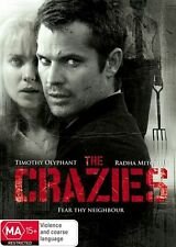 THE CRAZIES DVD Timothy Olyphant Radha Mitchell HORROR THRILLER (SEALED) R4