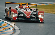 Tom Kristensen Hand Signed Audi Sport Photo 12x8 1.