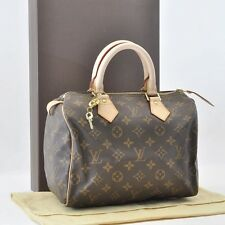 Authentic  Louis Vuitton Monogram Speedy 25 Hand Bag M41528 #S3957