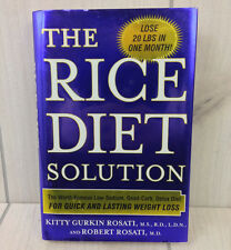 The Rice Diet Solution Hardback Book Low Sodium Good Carb Detox Diet Weight Loss