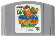 "NINTENDO 64 N64 "" DIDDY KONG RACING "" DD-KONG ROM JAPAN"