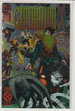 Generation X #1 chromium cover Jubilee Banshee Chis Bachalo 9.6