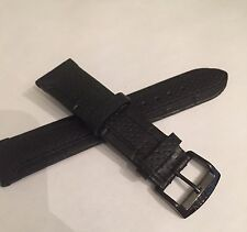 Citizen Men's AT2205-01E Parts Black Leather Band Watch Replacement