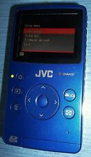 JVC PICSIO GC-FM1AU HD Memory Camera and Camcorder Blue