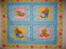 "1 Fabric Panel - Beatrix Potter Fabric Panel 36"" x 44"" - 4184-11"
