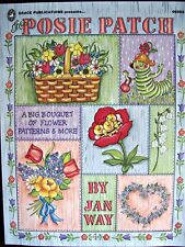 Posie Patch Pattern Design Book Tole Painting Scrapbook Card Making Grace Publ