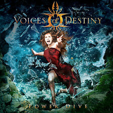 VOICES OF DESTINY Power Dive CD ( 200734 )       ( Fronted Female Gothic Metal )