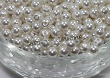 Wholesale Acrylic Pearl Round Spacer Loose Beads DIY 4mm/6mm/8mm/10mm/12mm