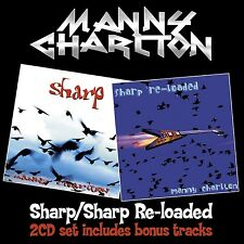 MANNY CHARLTON - SHARP/SHARP RELOADED 2 CD NEU