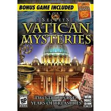 Lost Secrets Vatican Mysteries + Bermuda Triangle PC hidden object seek and find