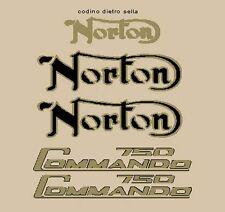 NORTON COMMANDO 750 ADESIVI STICKERS
