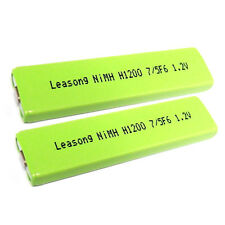 2 pc 1200mah 7/5 F6 NiMH Gumstick Battery NH14WM-BC HI-MD for MD MP3 CD player