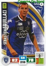 021 SEBASTIEN SQUILLACI SC.BASTIA ARSENAL.FC CARD ADRENALYN LIGUE 1 2017 PANINI