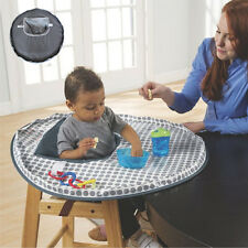 Baby High Chair Mat Infants Waterproof Round Fold Cosco Simple  Ocean Depth