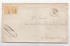 V324-CAMPANIA-NUMERALE A PUNTI DA CAGGIANO 1875