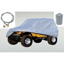 Car Cover 3 Layer With Bag & Lock  Jeep CJ Wrangler 55-06 13321.72 Rugged Ridge