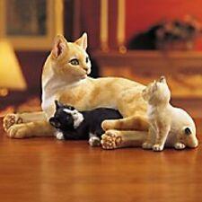 """Lenox Cat Figurine """"CatNap Cuddle"""""""