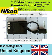 Genuine Original NIKON  EP-5 Power Supply Connector ( Dummy Battery EN-EL9 A )