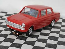 AIRFIX FORD CORTINA RED  1960'S  1:32  USED UNBOXED