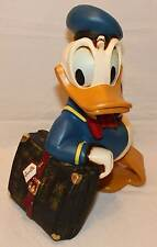 "Disney Großfigur / Big Fig / Statue / Polyresin ""Donald + Suitcase"" Neuwertig"