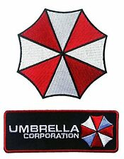 Velc. Umbrella Corporation Logo Resident Evil Jacket Cosplay Patch set of 2