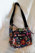 LILY BLOOM FLORAL PATTERN SHOULDER CROSSBODY PURSE~NEW~NEVER USED~COOL~Med. Size