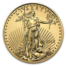 2012 1/10 oz Gold American Eagle Coin