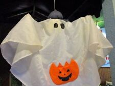 GEMMY Hanging White GHOST Child Talk Laugh MOTION ACTIVATED Halloween Decor
