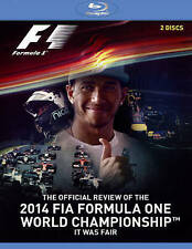 Formula One Review: 2014 (Blu-ray Disc, 2015, 2-Disc Set)