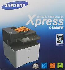 Samsung Xpress C1860FW Farblaser Multifunktionsgerät  (VL836S100)