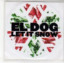 (EH224) El Dog, Let It Snow - 2009 DJ CD