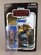 Star WARS COLECCIÓN VINTAGE MAWHONIC PODRACER PILOT figura VC71 cardado