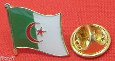 Algeria Algerian Country Flag Lapel Hat Cap Tie Pin Badge Brooch