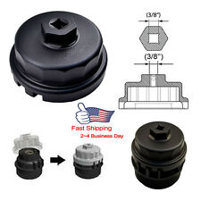 Black Oil Filter Wrench 6 & 8 Cylinder Engines For Toyota Tundra Sienna FJ Lexus