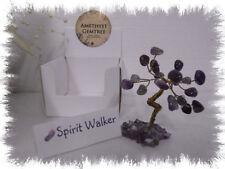 Boxed Mini Amethyst Gemstone Crystal Tree 5cm 'MYO'
