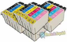24 T0791-T0796 'Owl' Ink Cartridges Compatible Non-OEM with Epson Stylus PX710W