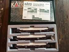 KATO HO Gunderson MAXI-IV Double Stack Car BNSF Road #253512 Item #30-9011