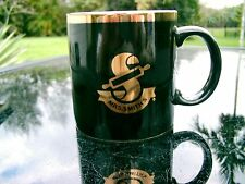 MRS. SMITH'S PIES   BLACK & GOLD MUG NICE SOUVENIR CLEARANCE MADE IN JAPAN