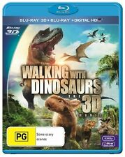 Walking With Dinosaurs: The Movie 3D & 2D : NEW Blu-Ray