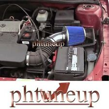 1999-2004 PONTIAC GRAND AM OLDSMOBILE ALERO 2.4 2.4L AIR INTAKE KIT SYSTEMS BLUE
