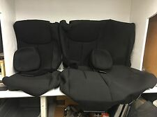2015 JEEP WRANGLER REAR LEFT & RIGHT REPLACEMENT SEAT UPHOLSTERY COVERS 6-PIECE