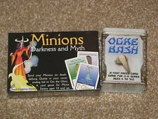 Ogre Bash + Minions: Darkness and Myth NEW SW fantasy card games family children