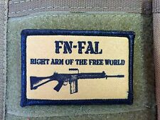 FN FAL Morale Patch Tactical Milspec 308 NATO L1A1 Right Arm of the Free World