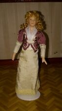 Victorian dolls house lady doll