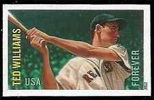 USA NO Die Cuts Sc. 4694a (45¢) Ted Williams 2012 single MNH*