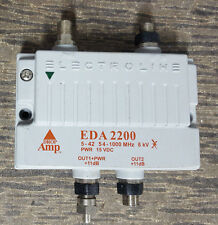 Electroline EDA 2400 4-Port Cable TV HDTV Signal Booster/Amplifier Drop Amp