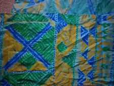 VINTAGE THAI IKAT MOTIF LONG SILK SCARF IN EXCELLENT CONDITION