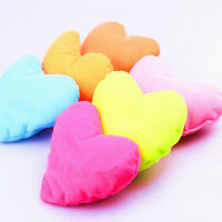 Pop 1 PC Home Kids Bed Pink Heart-shaped Pillow Creative Plush Pet Dog Cat Toy